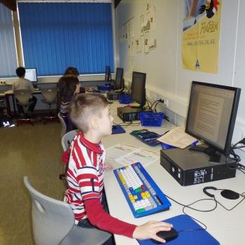 Tastatur kennenlernen kinder